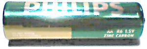 Batterij R6 (zink-kool)
