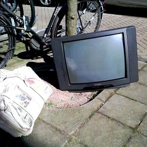 TV op straat
