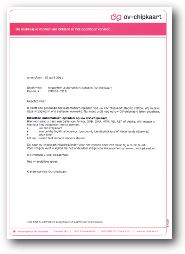 OV Chipkaart automatisch opladen opzeggen brief