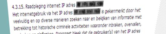 Zoekgedrag op internet als bewijs in een rechtzaak (bron: jure.nl)
