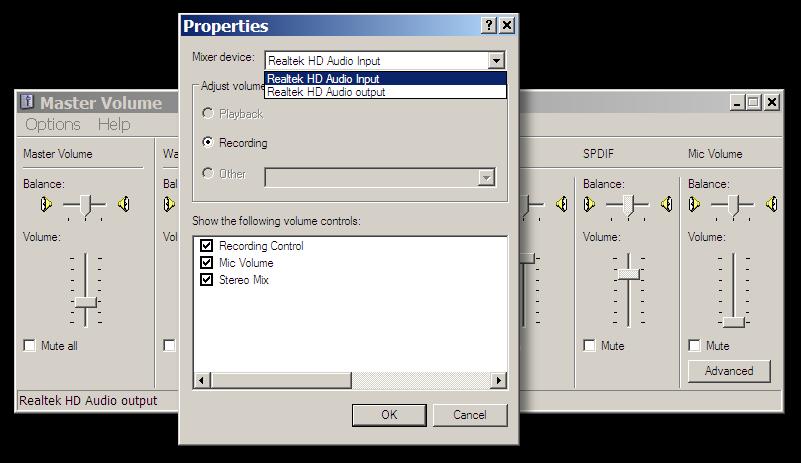 input mixer