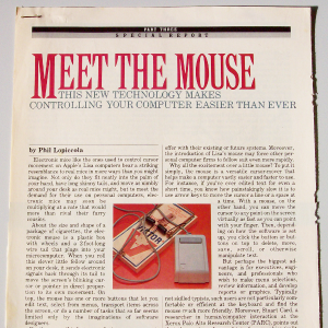 Popular Computing maart 1983: Meet the Mouse