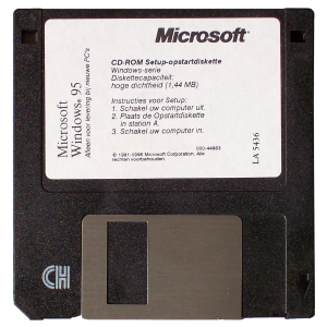 Windows 95 diskette