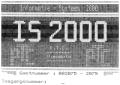 Videotex: inlogscherm IS2000