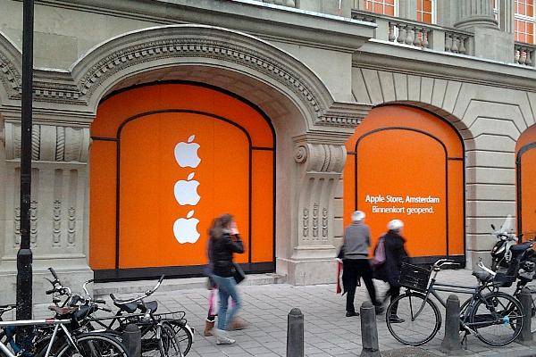 Apple Store, Amsterdam Leidseplein, 2012-02-18 (foto: blafhert)