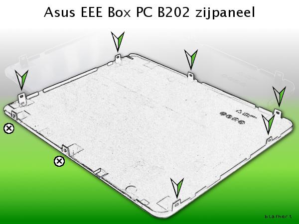 Asus EEE Box PC B202 cover