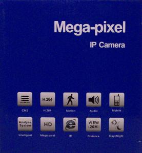 IP camera doos