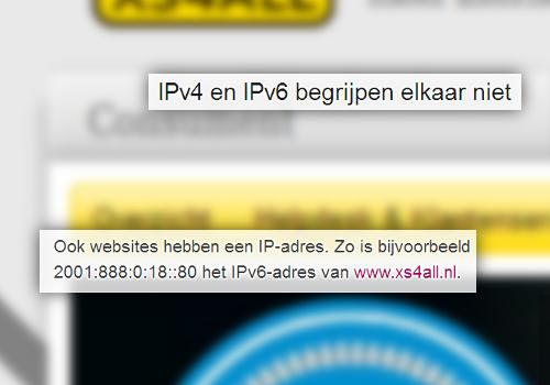 IPv6: opvolger van IPv4 of onhandig en inflexibel?