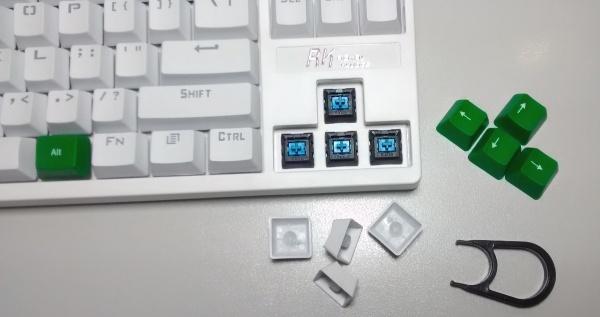 Royal Kludge RK RG-987 verwisselbare keycaps